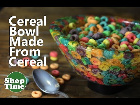 Cereal Bowl Made From Cereal Dipit 21 Froot Loops Bowl Youtube Cereal Bowls Froot Loops Bowl