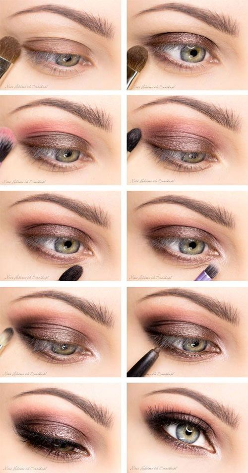 Photo of 12-Easy-Simple-Make-up-Anweisungen für Anfänger-Lerner-2015-8 # Anfänger … – Make-up Geheimnisse
