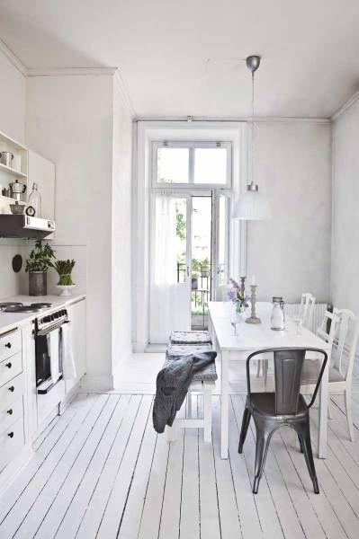 Épinglé par YeeWei Ooi sur Home Pinterest Cuisine blanche - creer le plan de sa maison