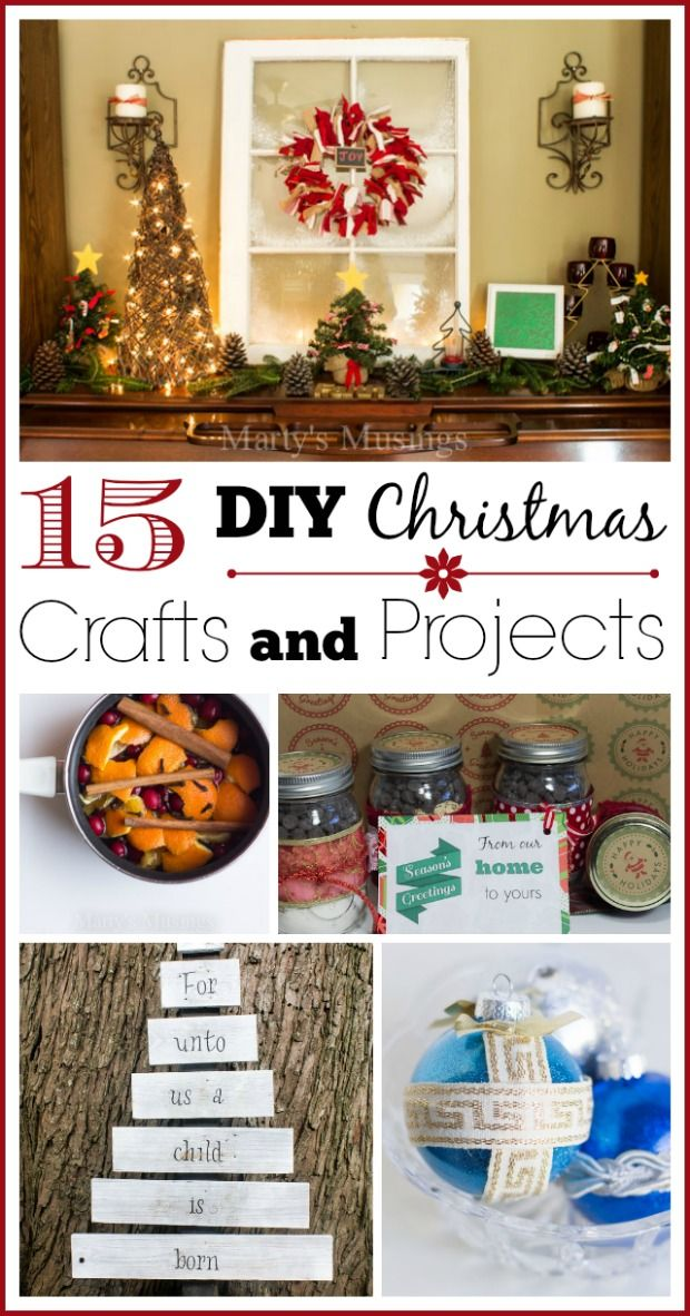 15 Easy Diy Christmas Crafts And Projects Christmas Crafts Diy Easy Christmas Diy Christmas Diy