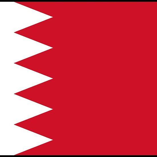 Bahrain Flag Sticker By Mark Podger Bahrain Flag Flag Gift Flags Of The World