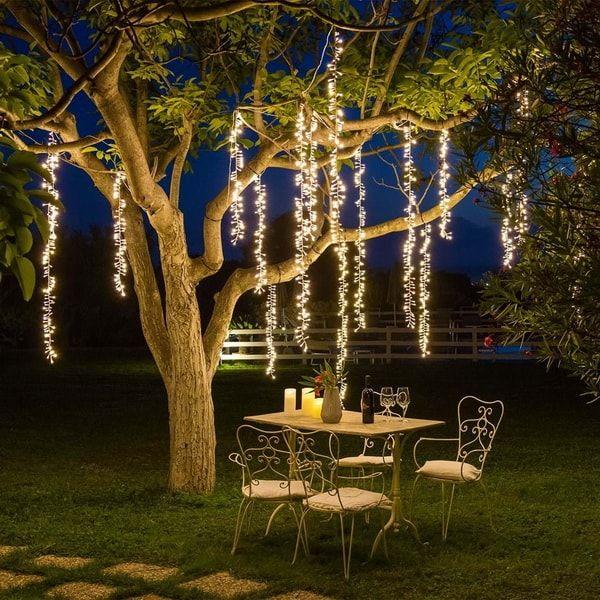 Decoracion Navidena Con Luces Led Ideas Para Navidad Decoracion Con Luces Navidenas Luces Para Jardin Exterior Luces En Jardines