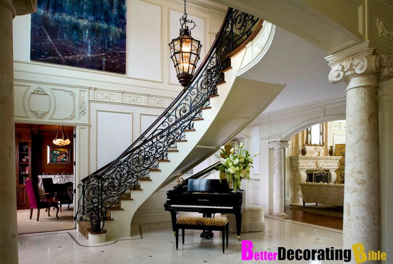 Amazing Foyer In The Brown Residence In New Jersey