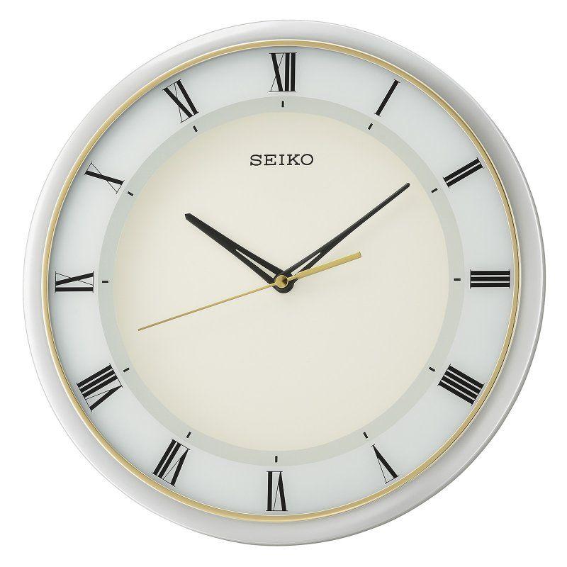 Seiko Round Luminous Dial Wall Clock