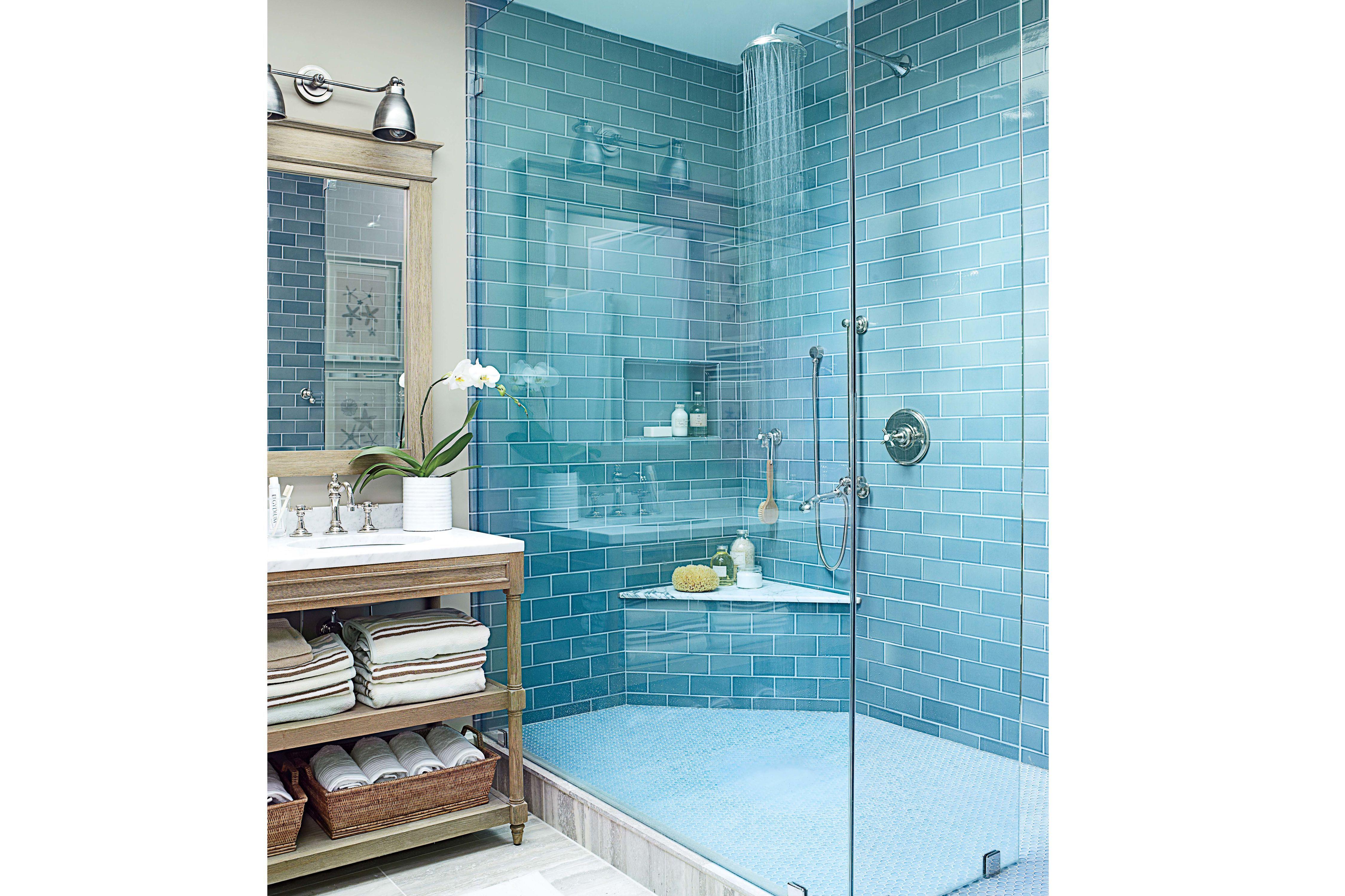 10 Beautiful Blue Bathrooms Beach House Bathroom House Bathroom Beach House Interior
