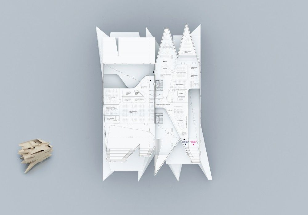 Moscow Polytechnic Museum – Education Center Proposal / Leeser Architecture