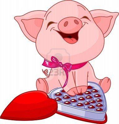 Valentine S Day Cute Pigs Cute Piglets Pig Art