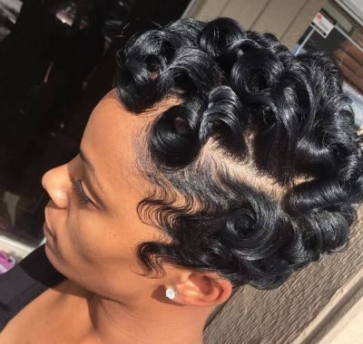 Curl Hairstyles Pin Curl Hairstyles Short Hair  Hairstyles Ideas For Me  Pinterest
