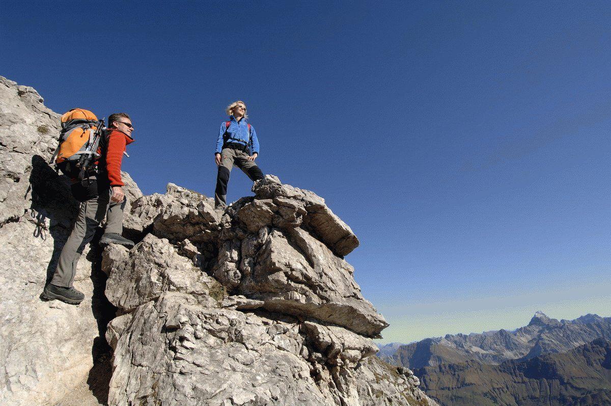 Klettersteig Bavaria : Klettersteig der erlebnisgarten in riederklamm