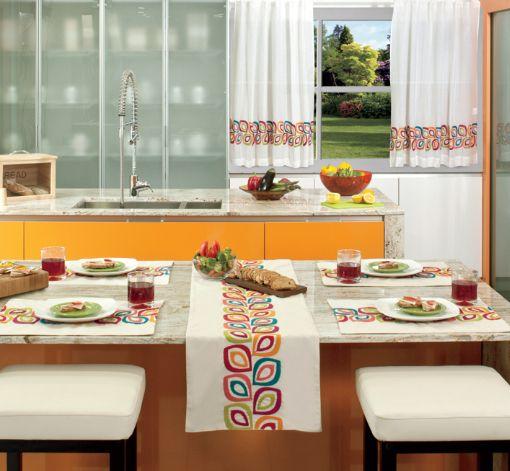 Cortinas de cocina vianney ideas casa house creatividad for Decoracion de cortinas de cocina