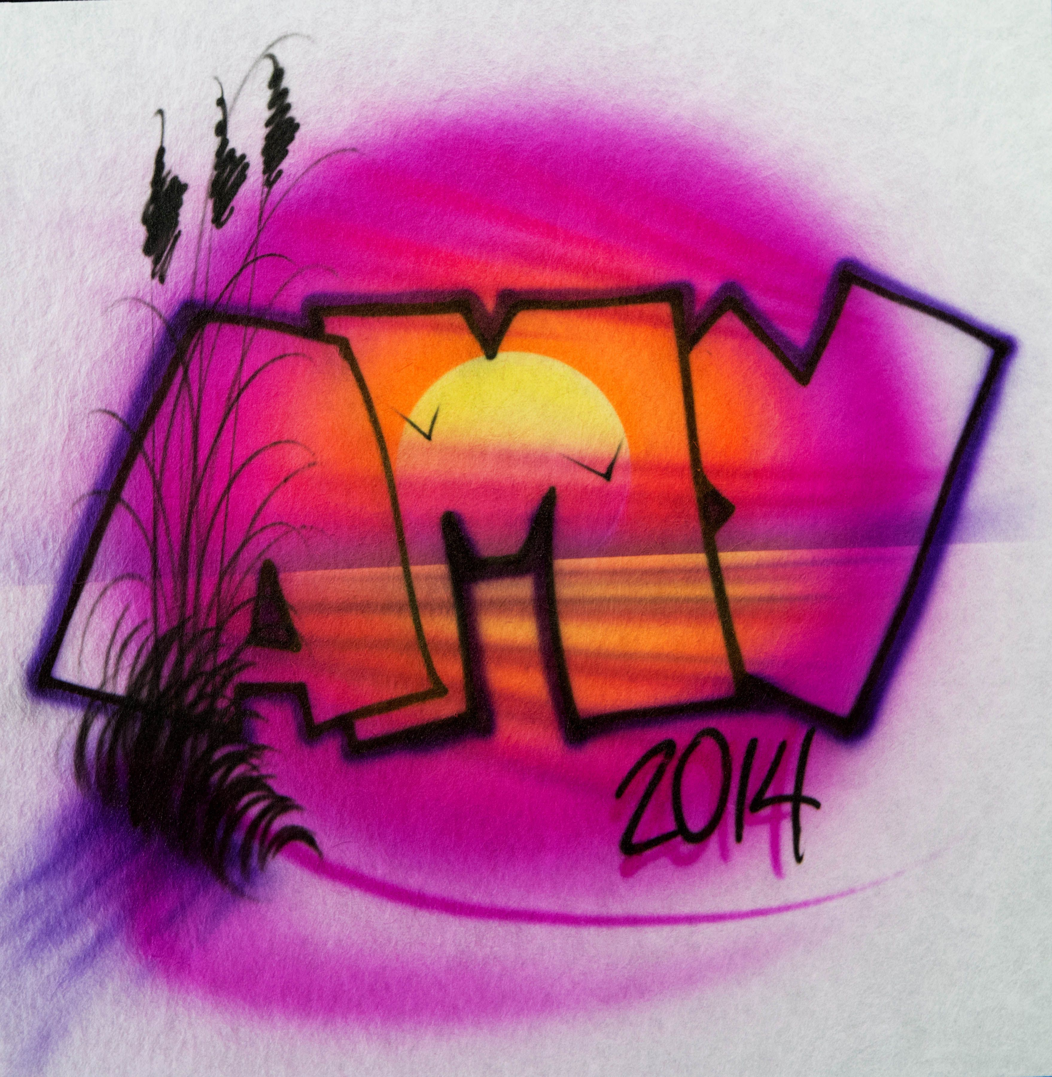 Art Top T-shirt Airbrush Pro Gary Worthington. Hot-selling