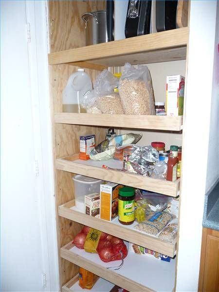 C mo construir una alacena de cocina kitchen pantries - Alacena de cocina ...