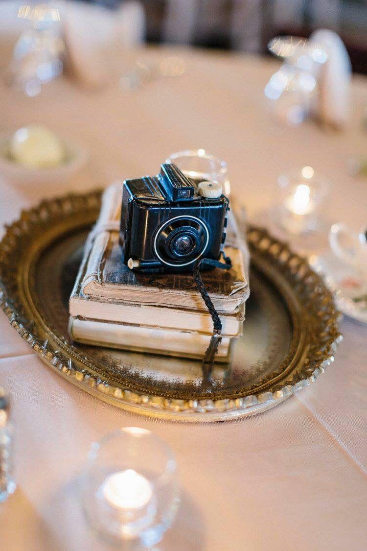 Vintage Camera Centerpiece Vintage Chic Wedding Vintage Travel Wedding Vintage Camera Decor
