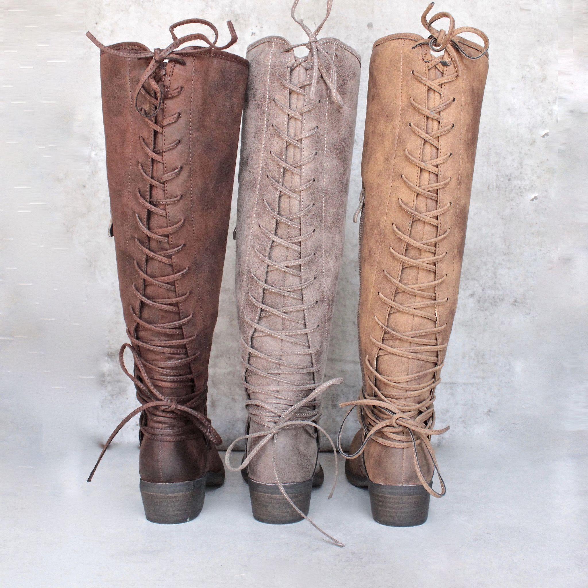 e8a8ab5419b very volatile - miraculous - knee high zip boot (women) - more colors -  shophearts - 1