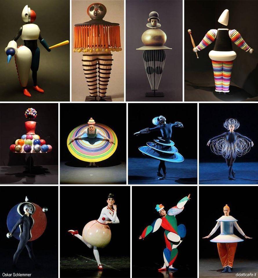 Oskar Schlemmer costume for Treadic Ballet 1922 | Costumes,masks ...