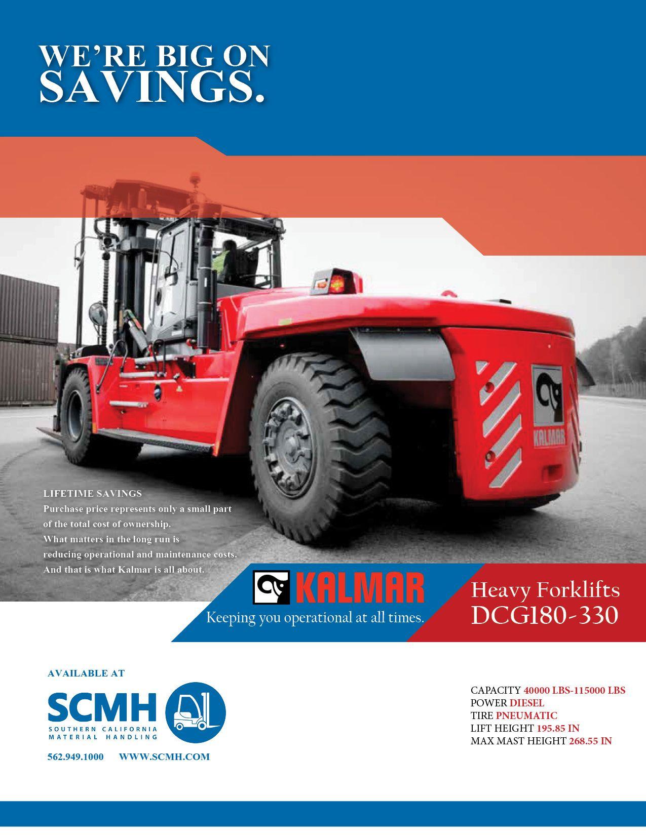 Pin by Socal Handling on Kalmar forklifts | Monster trucks, Trucks