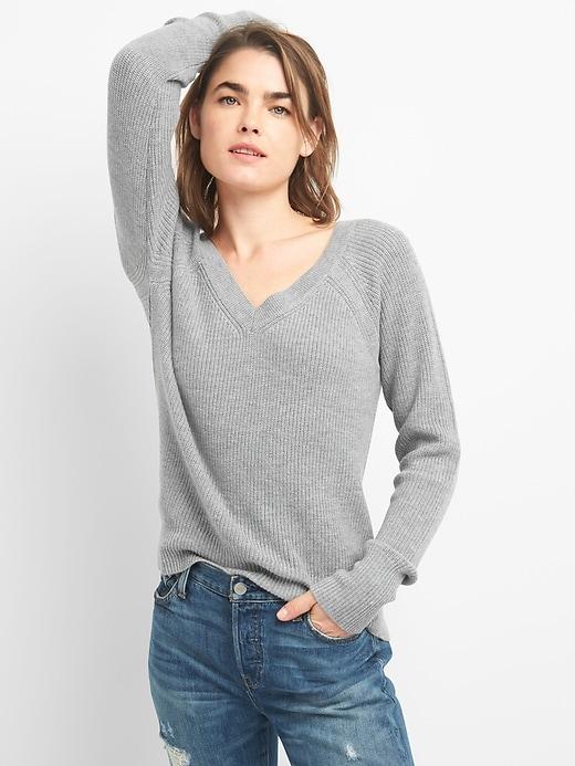 merino wool pullover damen
