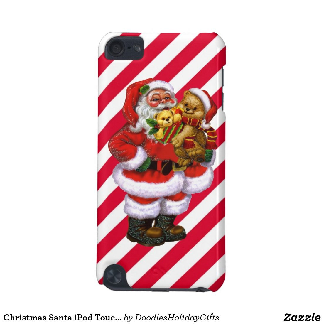 Christmas Santa iPod Touch g barely there case iPod Touch G Case