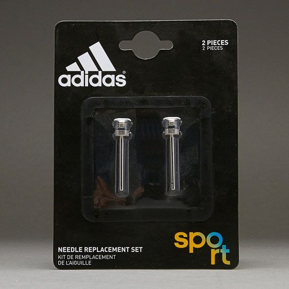 3bbe9cfdbd4 Adidas Pump Needle Replacement 2 pair Set Silver Steel G70908 Football  Volley