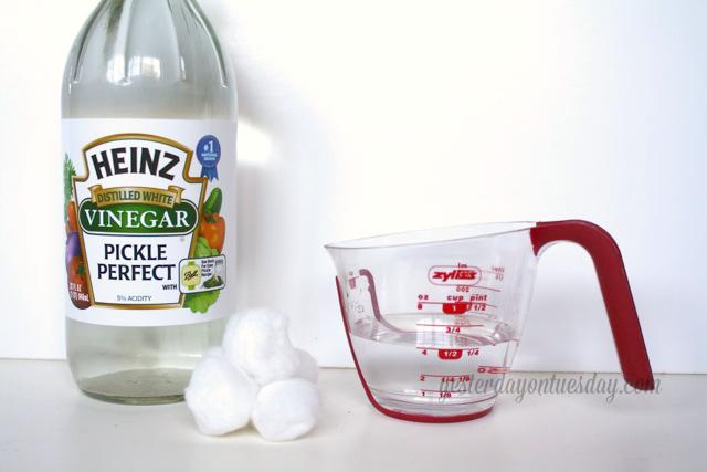 Vinegar and Water