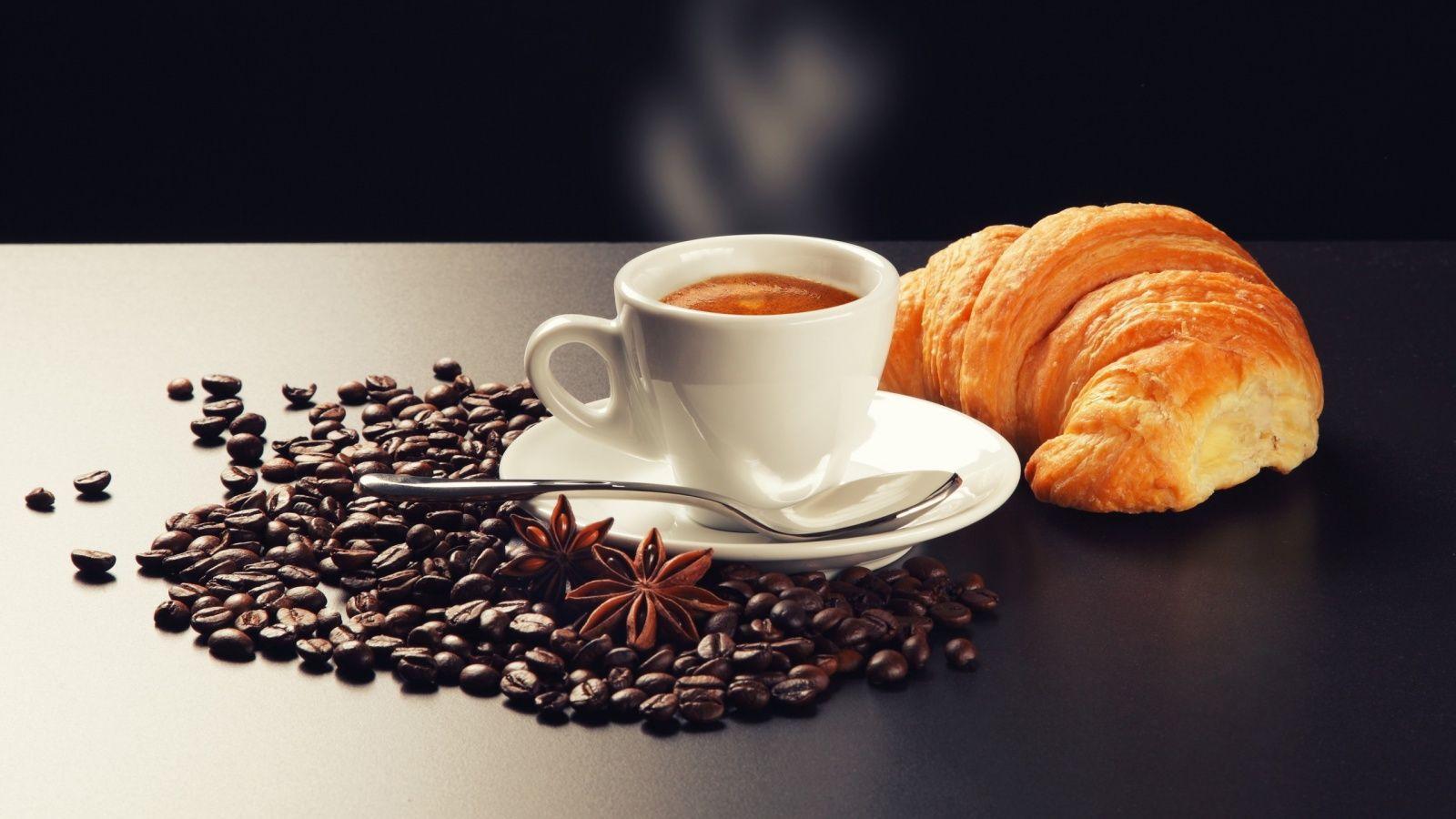 Damit der Tag gut beginnen kann, braucht man eine gute Tasse Kaffee ...
