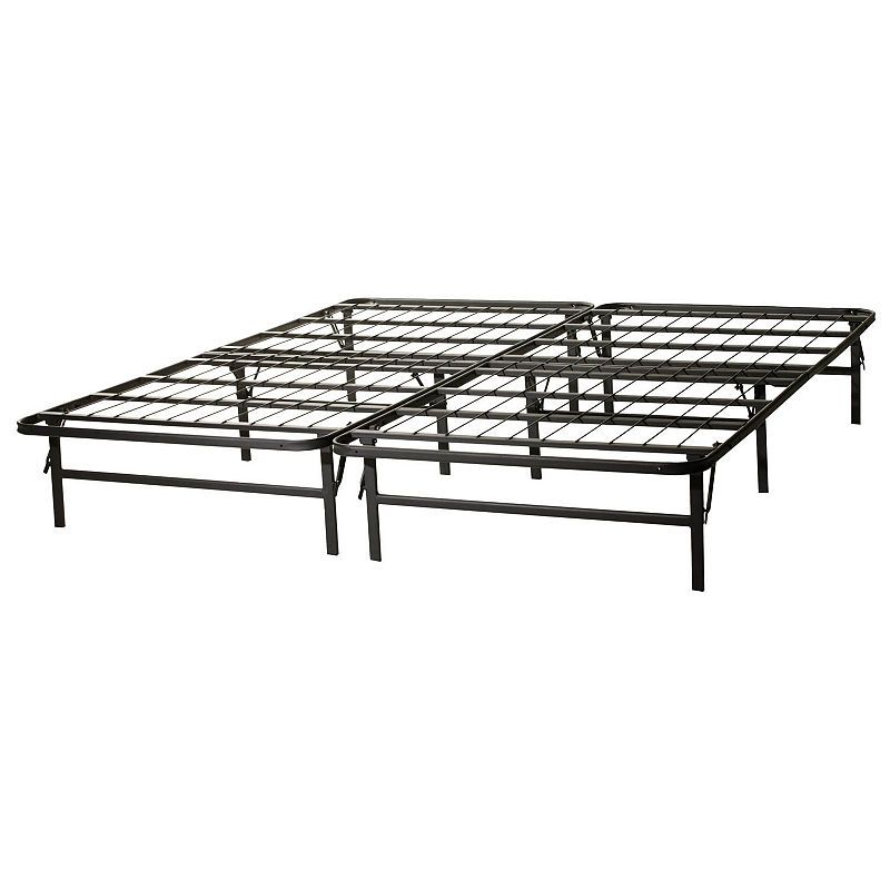 Malouf Structures Highrise Folding Metal Bed Frame In 2020 Metal