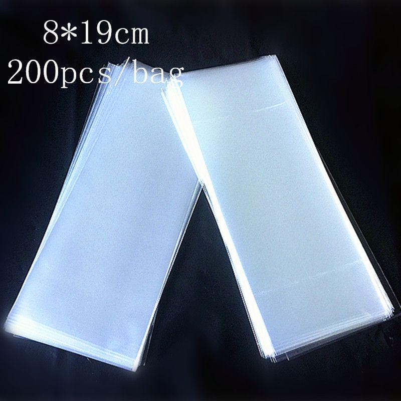 Günstige Neue Stil Back Paket tasche Transparente Flache