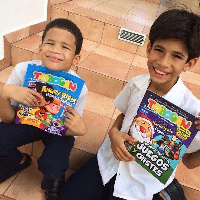 AQUÍ CON TOBOGÁN: Marlon y Mauro Despradel Mercedes CON TOBOGÁN