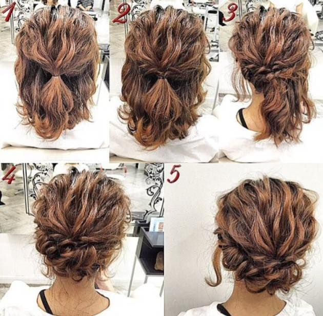 Fast Hair Tutorial For A Lazy Day Short Hair Styles