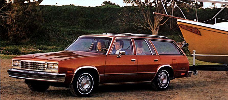 1982 Chevrolet Malibu Classic Station Wagon Chevrolet Malibu