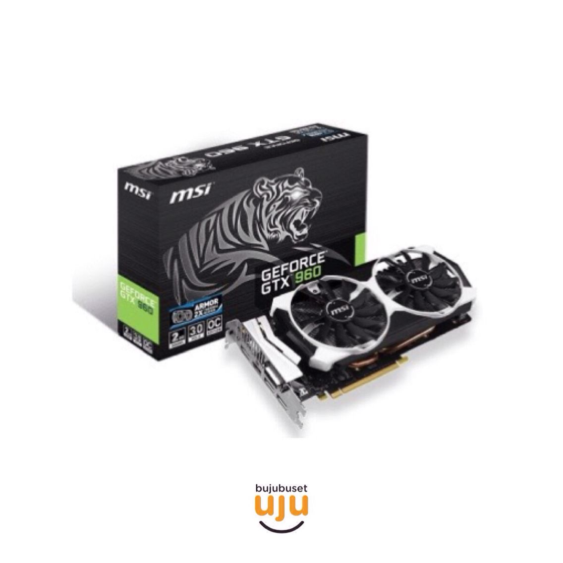 MSI Geforce GTX 960 2048MB DDR5 - Tiger Edition IDR 3.010.000