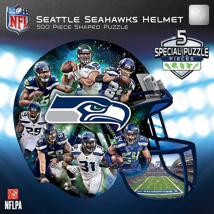 Seattle Seahawks 500Piece Helmet Puzzle