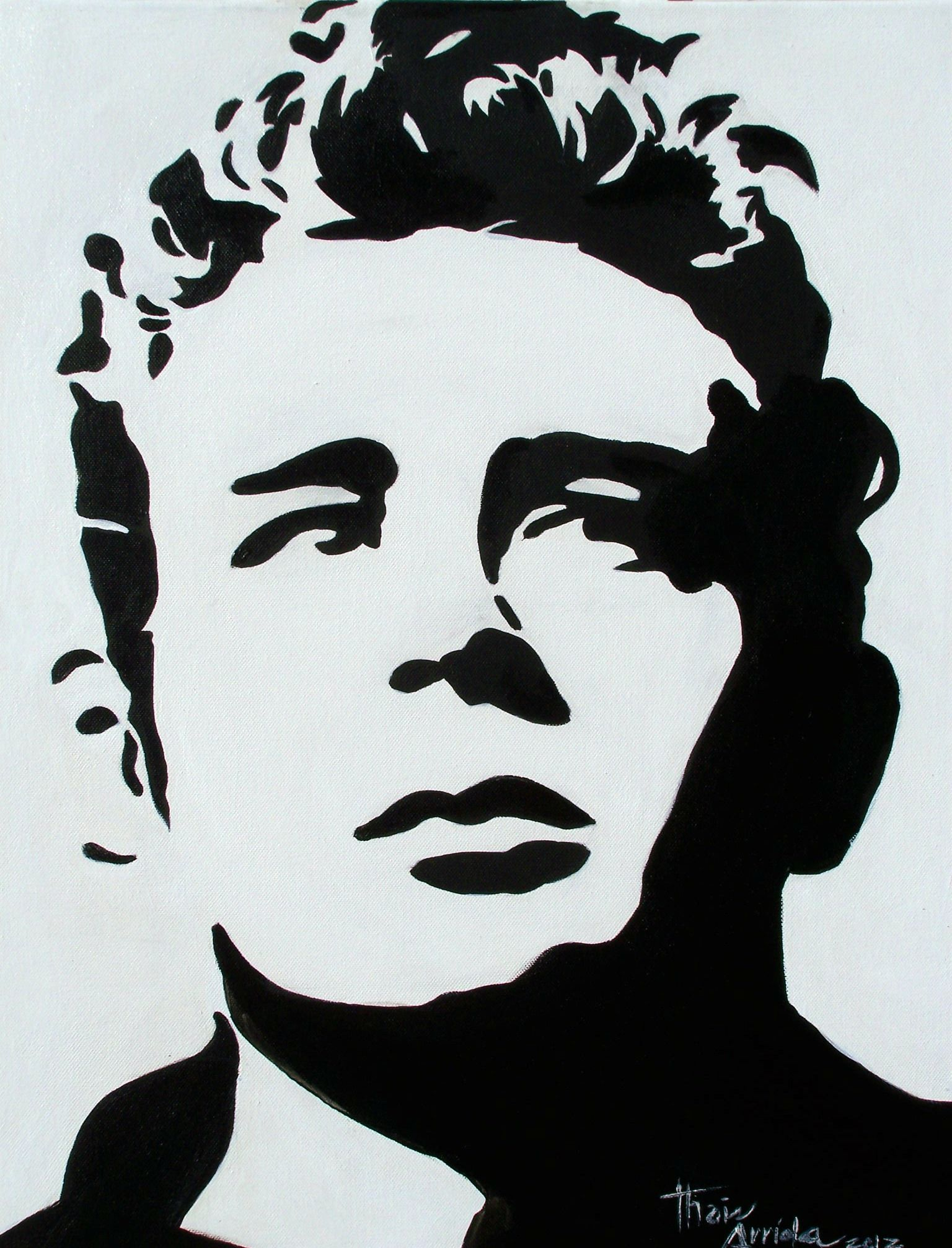 James dean pop art face stencil art stencils silhouette art pyrography