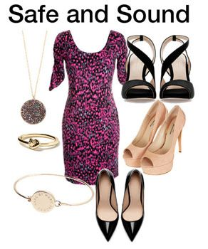 Ask The Stylist » Accesorizing a Pink Animal Print Dress