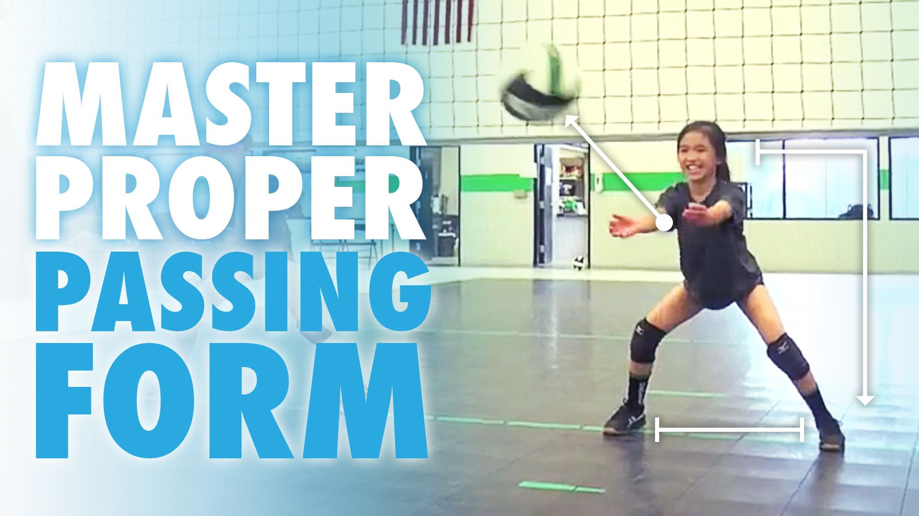 Training Beginners To Master Proper Passing Form Coaching Volleyball Volleyball Drills For Beginners Volleyball Skills