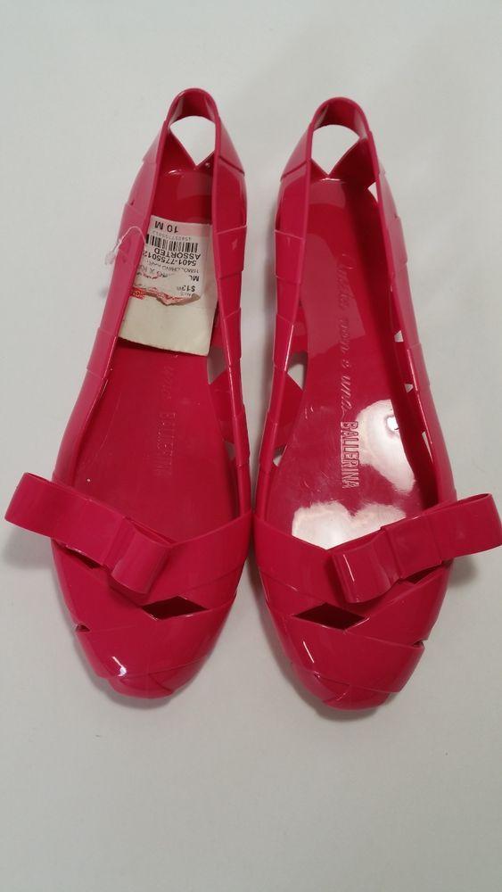 06609bc84c3df9 Moschino Kartell Ballerina Flats - Size 40 (US 10) - Please Read  Moschino   BalletFlats