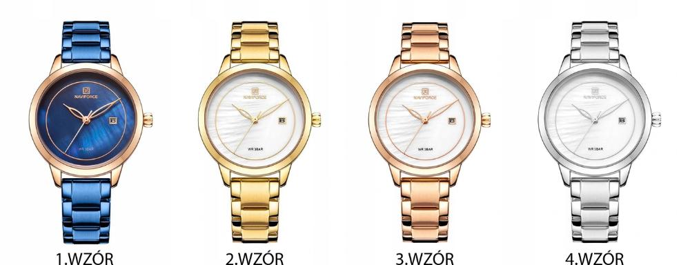 Zegarek Damski Naviforce Kalypso Bransoleta 8763144798 Oficjalne Archiwum Allegro Two Tone Watch Accessories Watches
