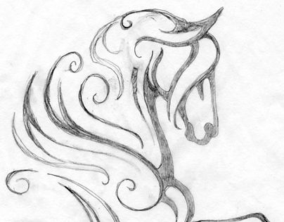 """Check out new horse logo design on my @Behance portfolio: """"Feathered Horse"""" http://be.net/gallery/44914889/Feathered-Horse"""