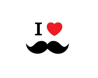 I love my moustache!