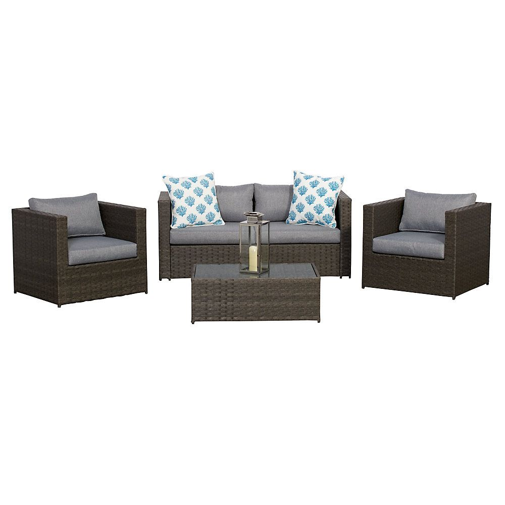 Pin By Laurence Gauvin On Meuble Patio Outdoor Sectional Sofa Outdoor Sofa Home Decor