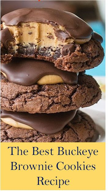 Buckeye Brownie Cookies Recipe