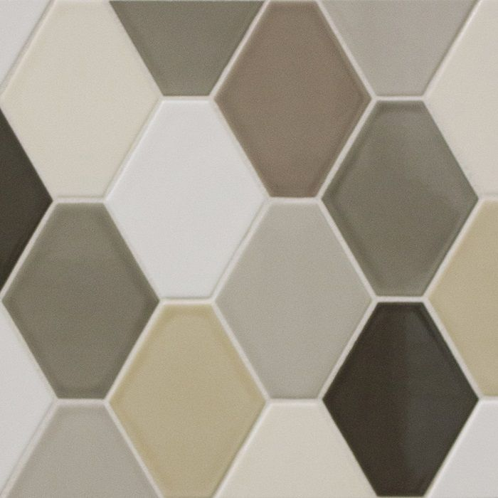 Arizona Tile Jumbo Hex Ceramic Is Offered In A Wide Array Of Neutral And Smoky Color Hues