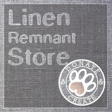Large linen remnants at low-cost! ;) #LinenCrafts