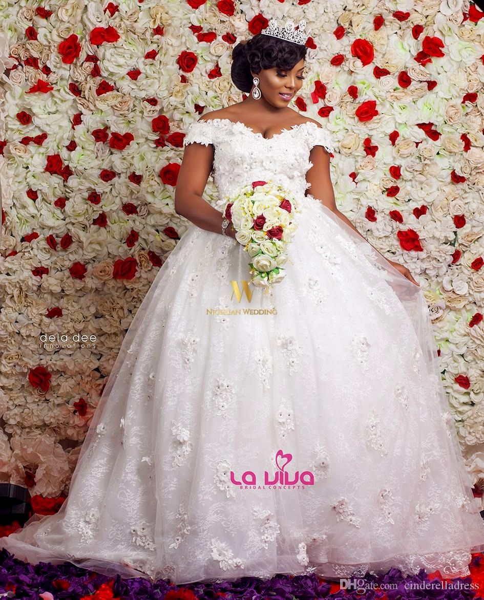 Nigerian Traditional Wedding Dress Styles Unique Discount 2018 Modern Nigerian Plus Size A Line Wedding #nigeriandressstyles