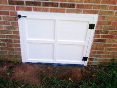 Rotten Crawl Space Door Crawl Space Door Crawlspace Diy Door
