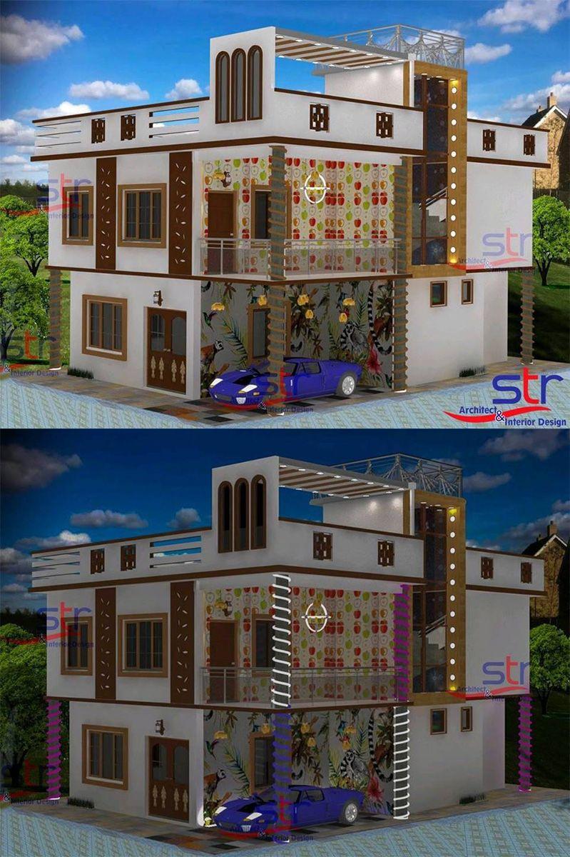 bhk house also str architect  interior design strdesign on pinterest rh