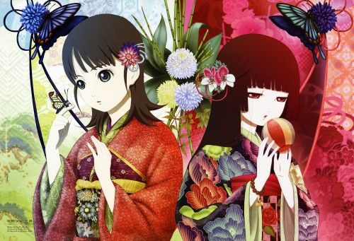 Jigoku Shoujo Mitsuganae Love Loved To Watch Pinterest Hell