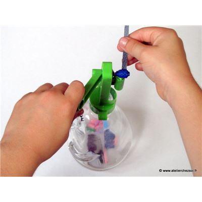 Crée des perles en papier recyclé avec 4M green creativity de L'Atelier Chez Soi