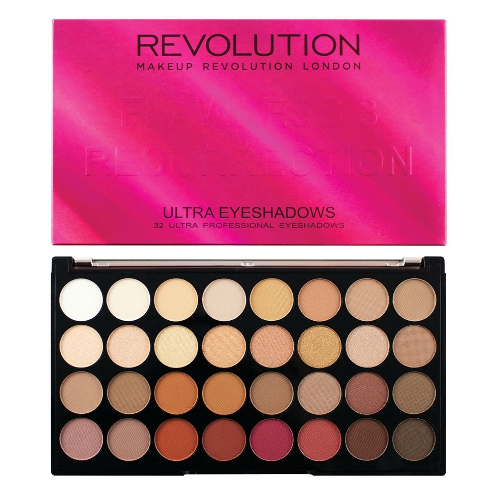 Makeup Revolution Ultra 32 Eyeshadow Palette Flawless 3