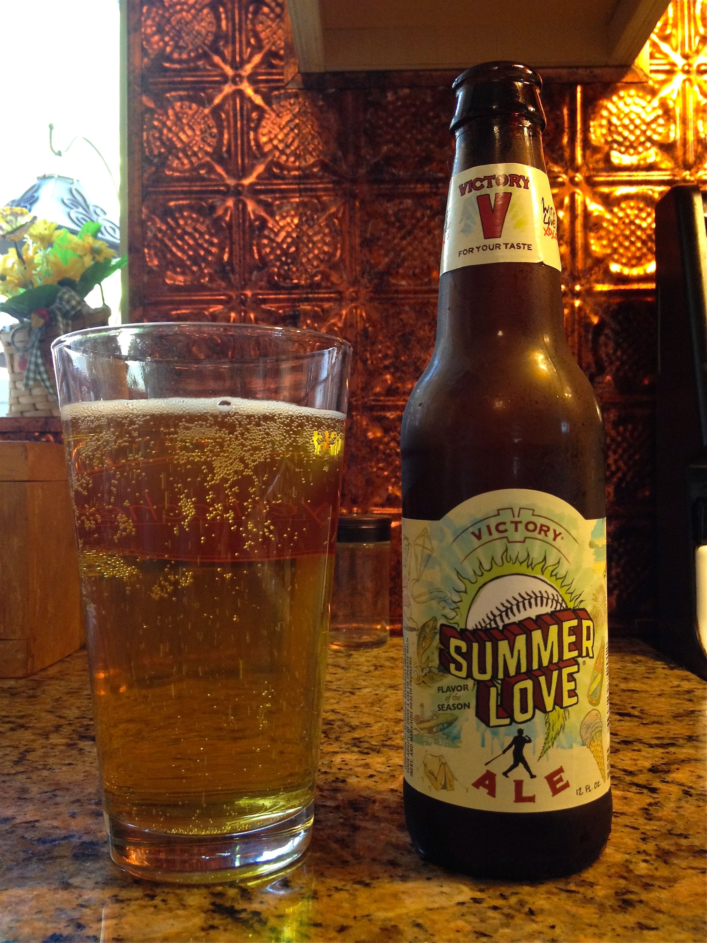 Summer Love By Victory Brewing Company Downingtown Pa Beer